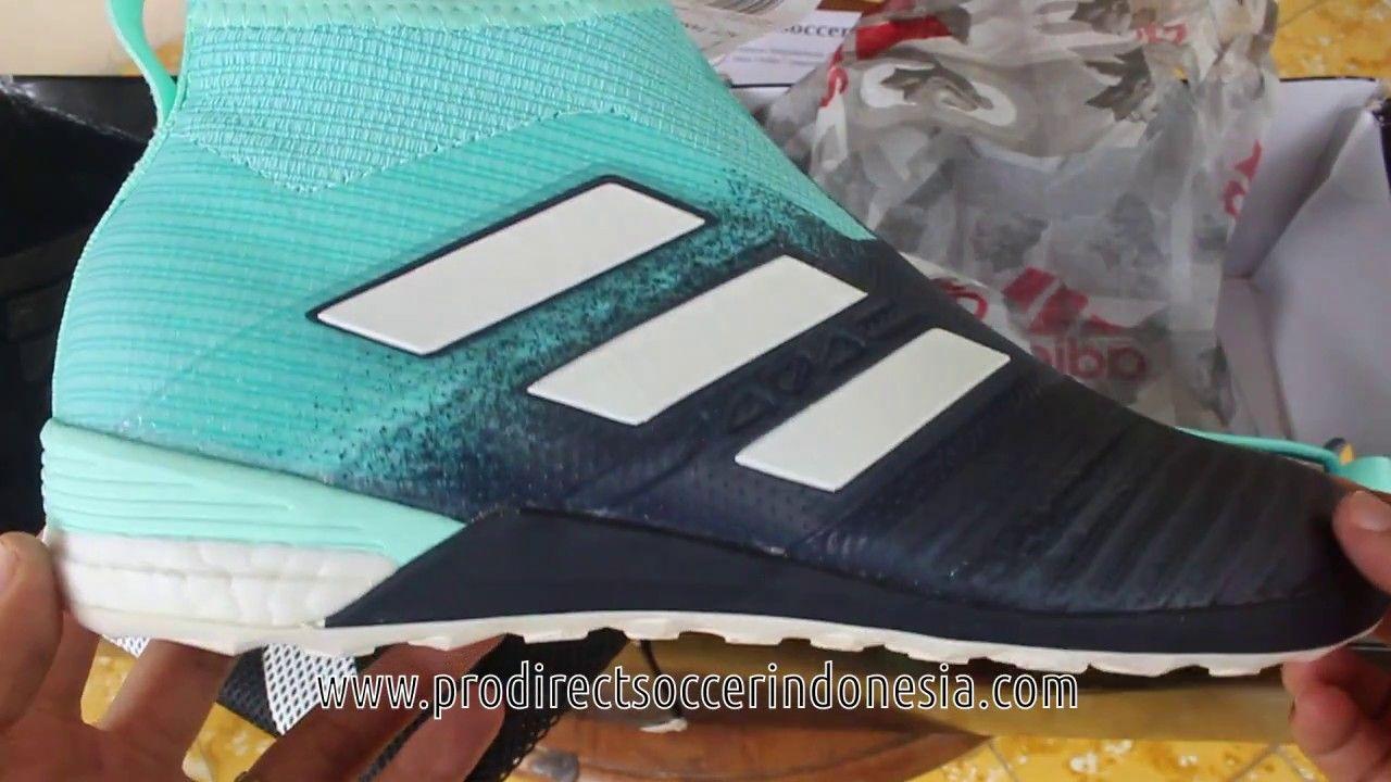 3d5c6157a Sepatu Futsal Adidas Ace Tango 17+ Purecontrol Energy Blue Aqua BY1961 O..
