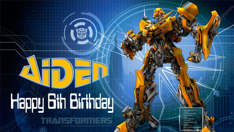 Nice Transformer Birthday Invitations Transformer Birthday Transformers Transformer Party