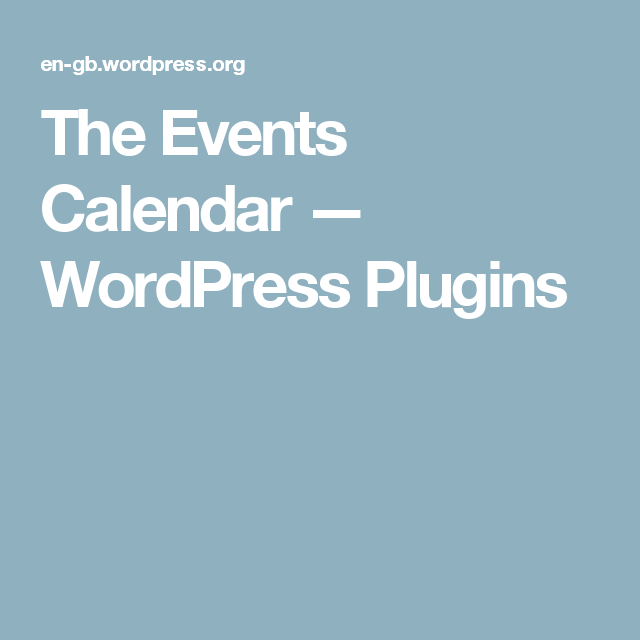 The Events Calendar  Wordpress Plugins  Elegant Themes Divi