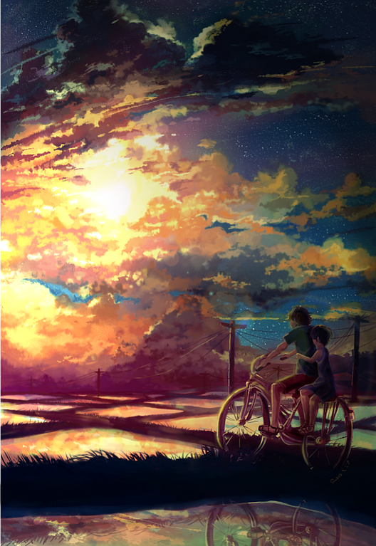 The Ride Home, Guavapie, Digital, 2015 Art Anime art