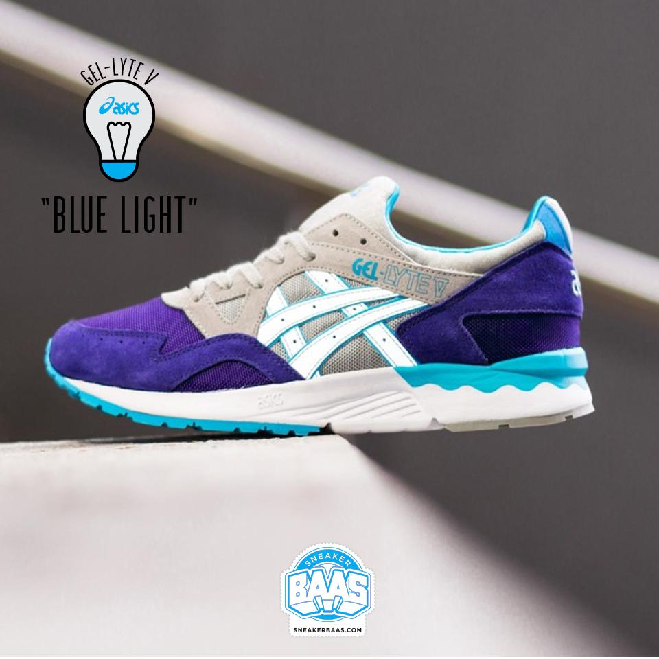 Unusual ASICS Gel-Lyte V Soft Grey/Light Blue