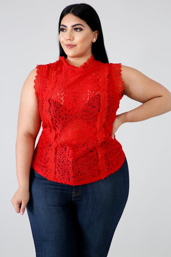 Lace see me now top in 2020 bodysuit fashion curvy girl