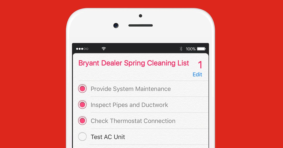 Add An Hvac Check To Your Spring Cleaning List