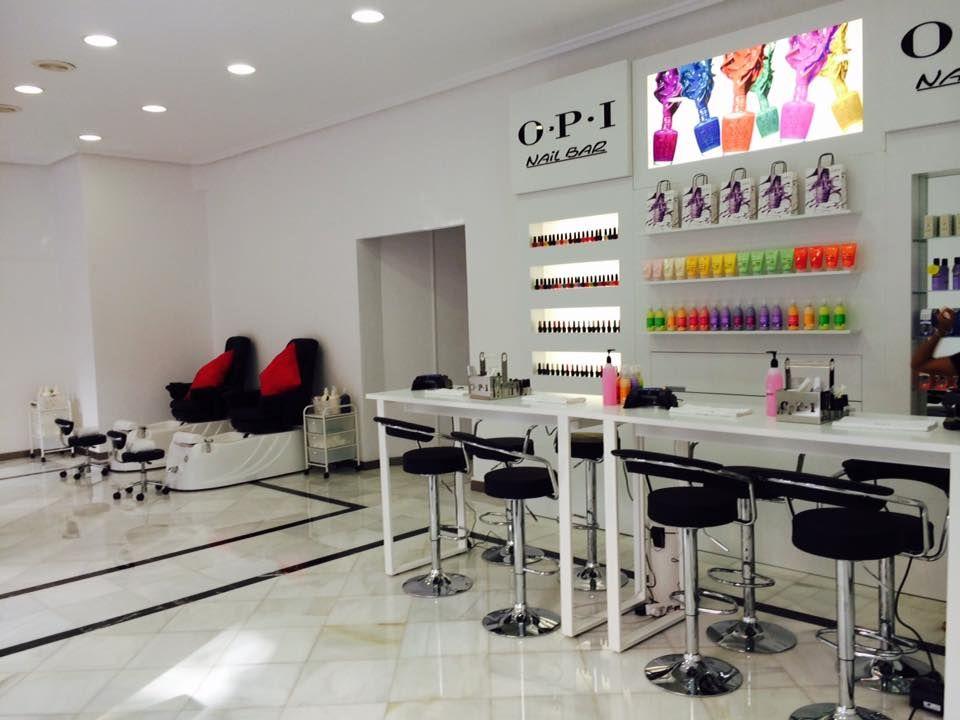 25 Opi Nail Bar Savvy Enticing Salon And Spa Setups