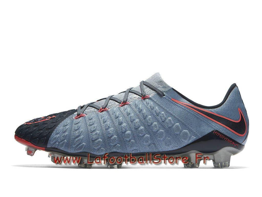 Nike Hypervenom Phantom 3 FG Chaussure de football à crampons pour terrain  sec Armory Blue 852567_400