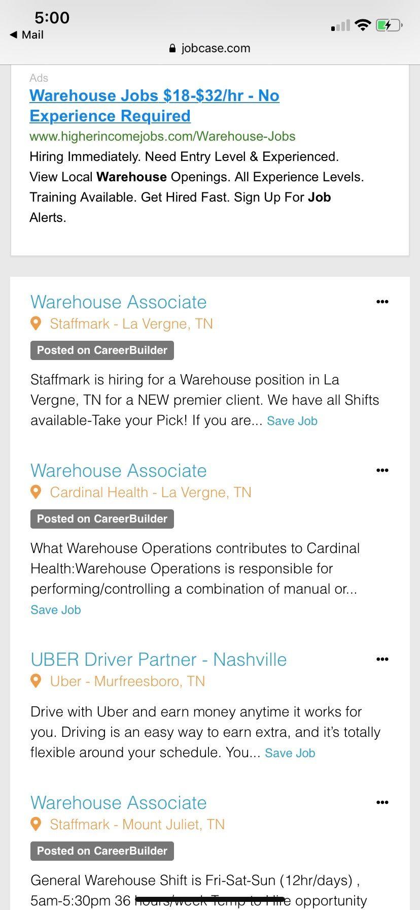 Pin By Summer Brooks On Birthday Ideas Warehouse Jobs Jobs Hiring Entry Level