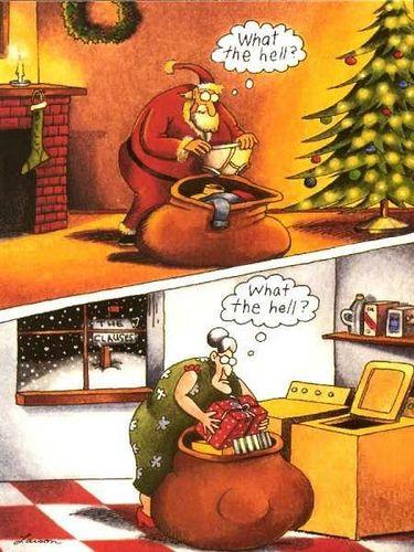 Far Side Christmas Cartoons : christmas, cartoons, Funny