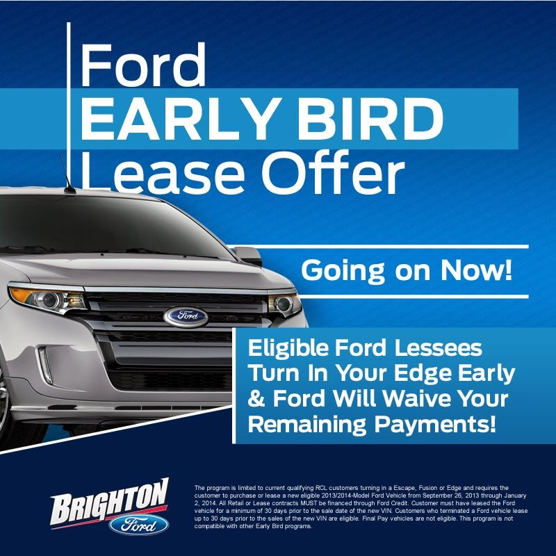 How To Get Out Of A Ford Lease Early