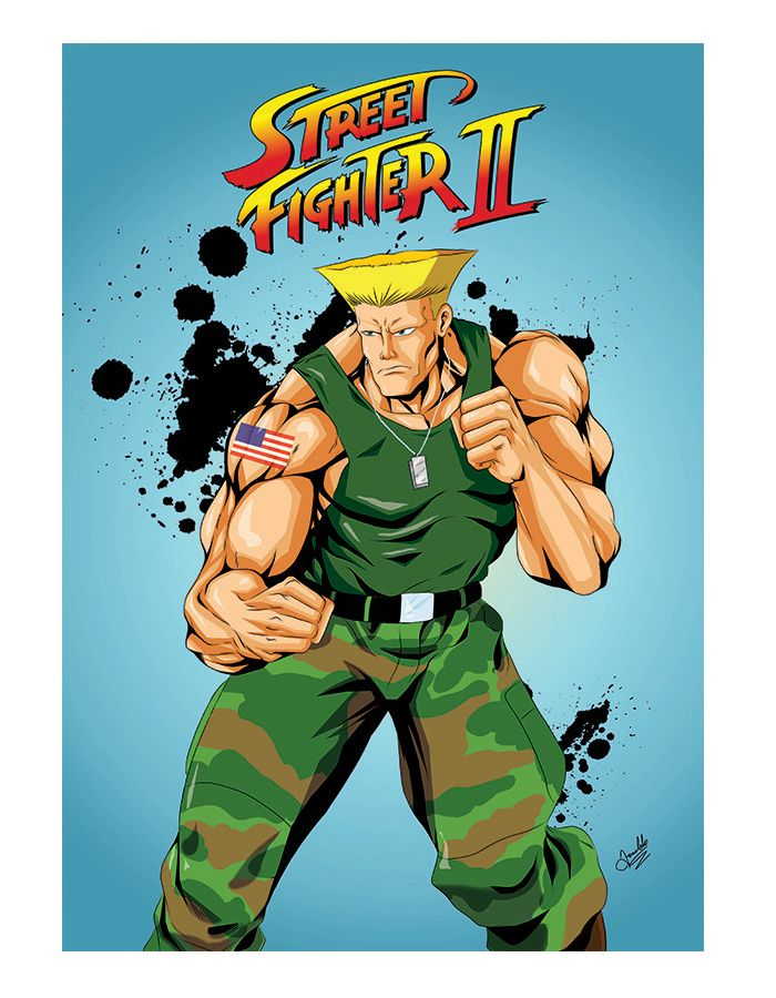 Guile Street Fighter Guile Street Fighter Street Fighter