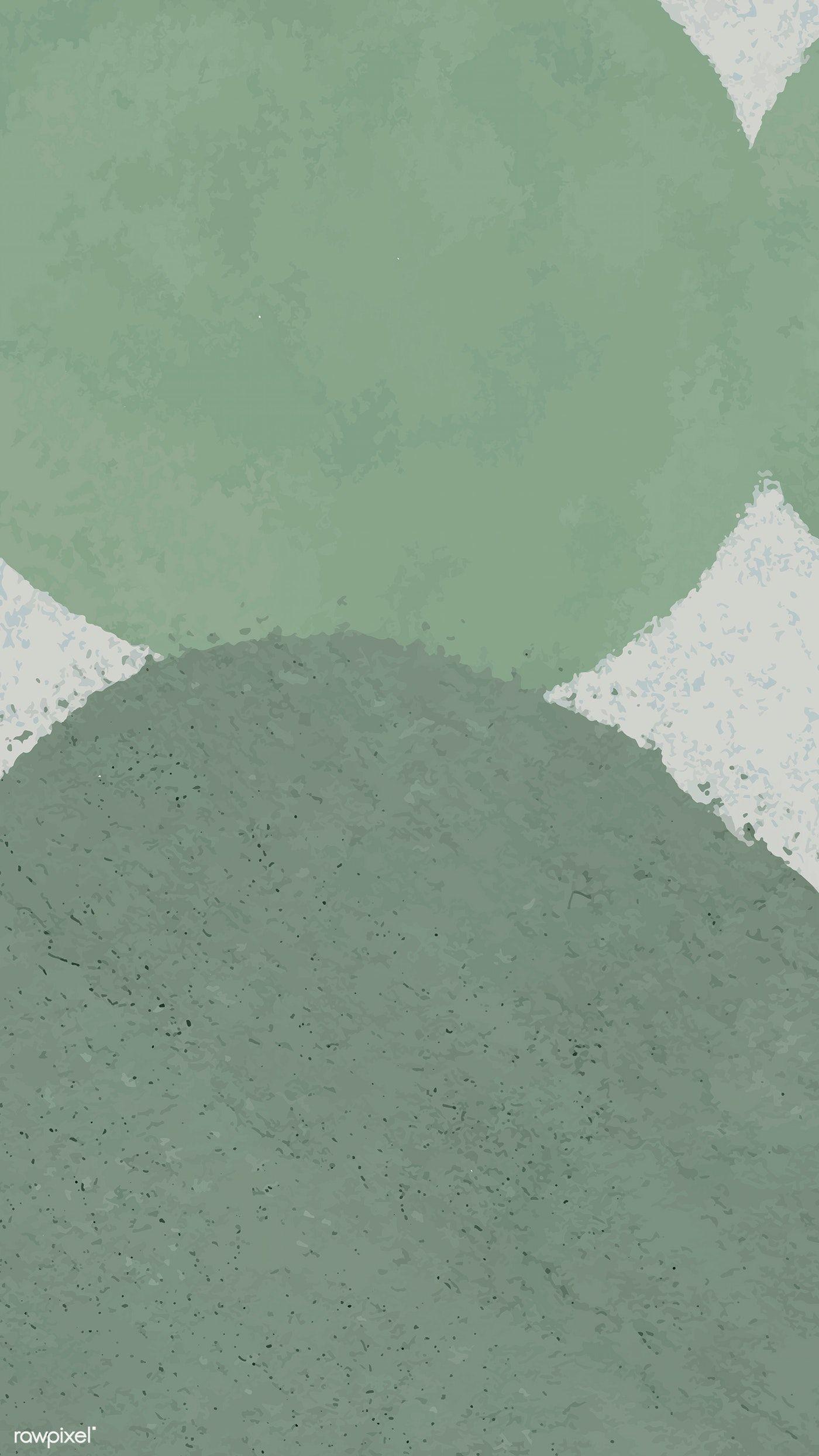 Download Premium Vector Of Round Green Circle Phone Background Vector Pastel Background Green Backgrounds Phone Backgrounds