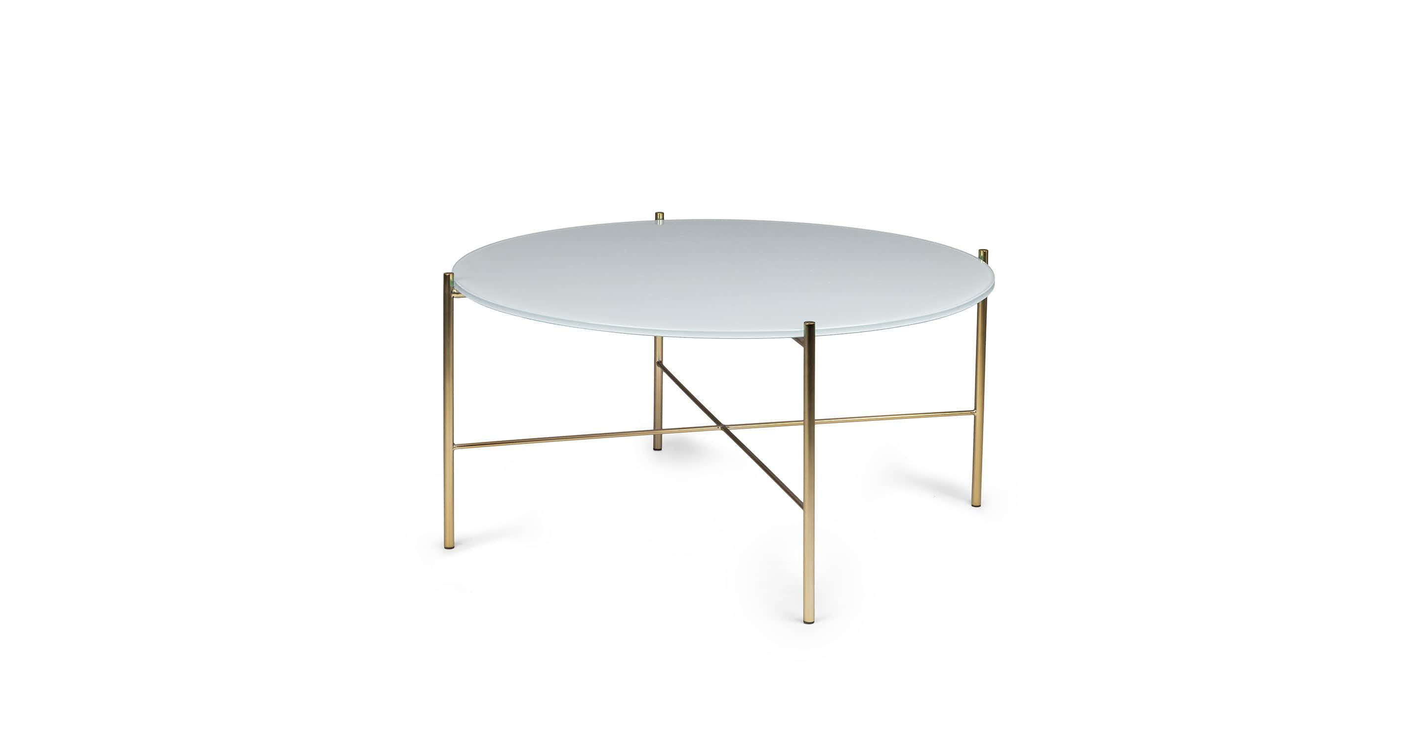 Silicus Light Gray Round Coffee Table Mid Century Modern Coffee Table Round Coffee Table Coffee Table [ jpg ]