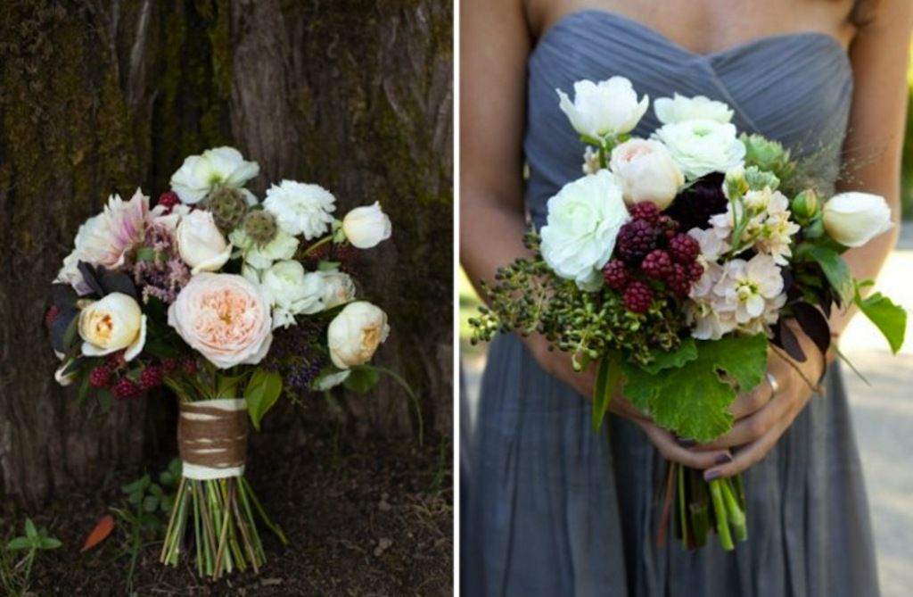 From Traditional to Alternative: Favorite Fall Wedding Bouquets and Centerpieces