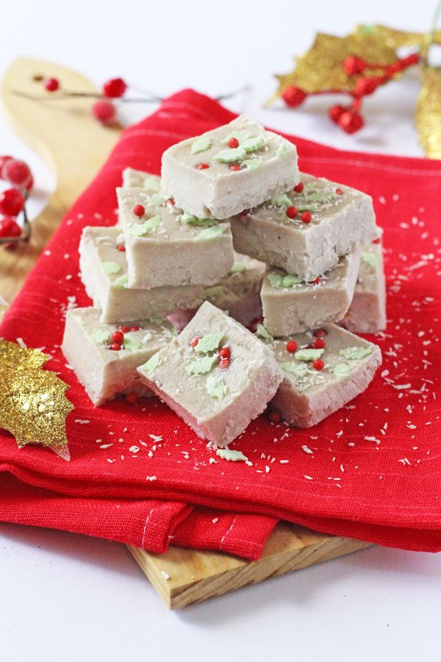 Healthy Coconut and Banana Christmas Fudge | Healthy Ideas for Kids ...