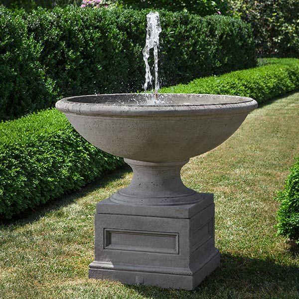 Condotti Outdoor Urn Fountain Ft 280 Fontany Sadovye Skulptury Sadovodstvo