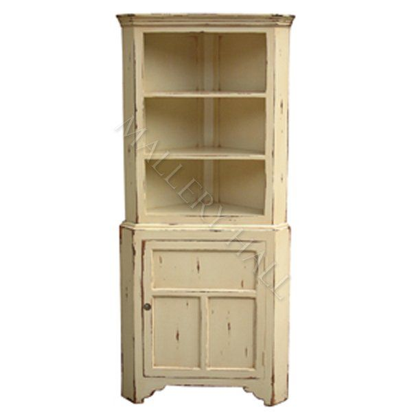 French Cottage Kitchen Corner Cabinet