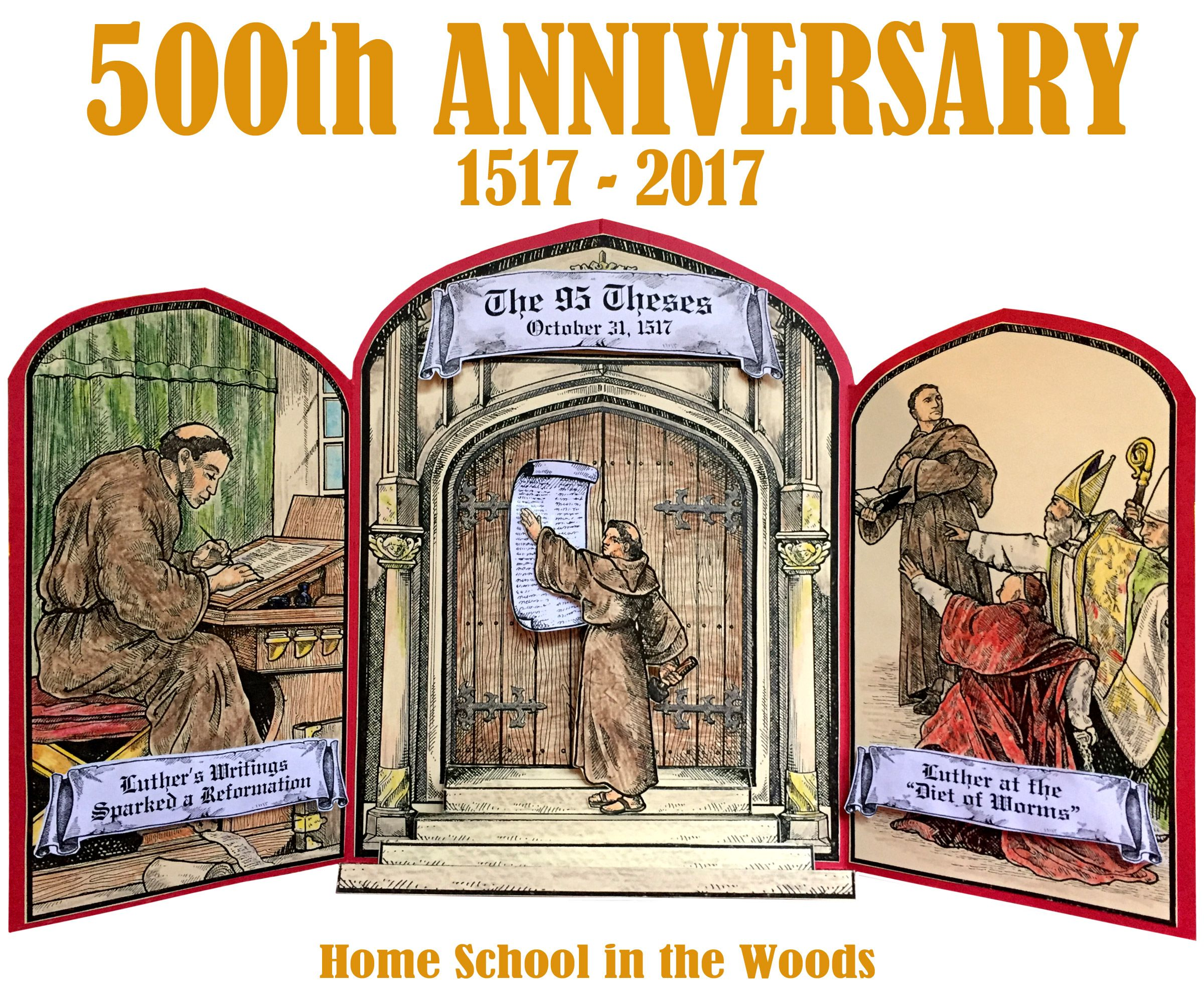 Marks The Celebration Of 500 Years Since Martin Luther Nailed His 95 Theses On The