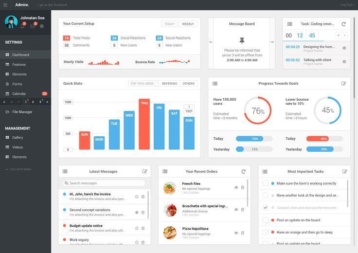 dashboard design inspiration - Google Search 7 - DESIGN - dashboard design inspiration