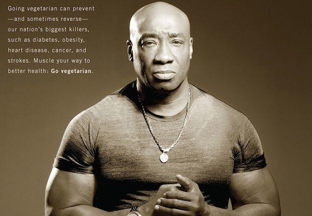 Watch Michael Clarke Duncan Talks Vegetarianism With Peta Michael Healthy Man Michael Jai White