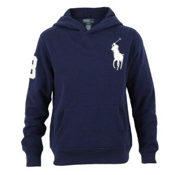3886538b8 Polo Ralph Lauren Big Pony Fleece Pullover Hoodie