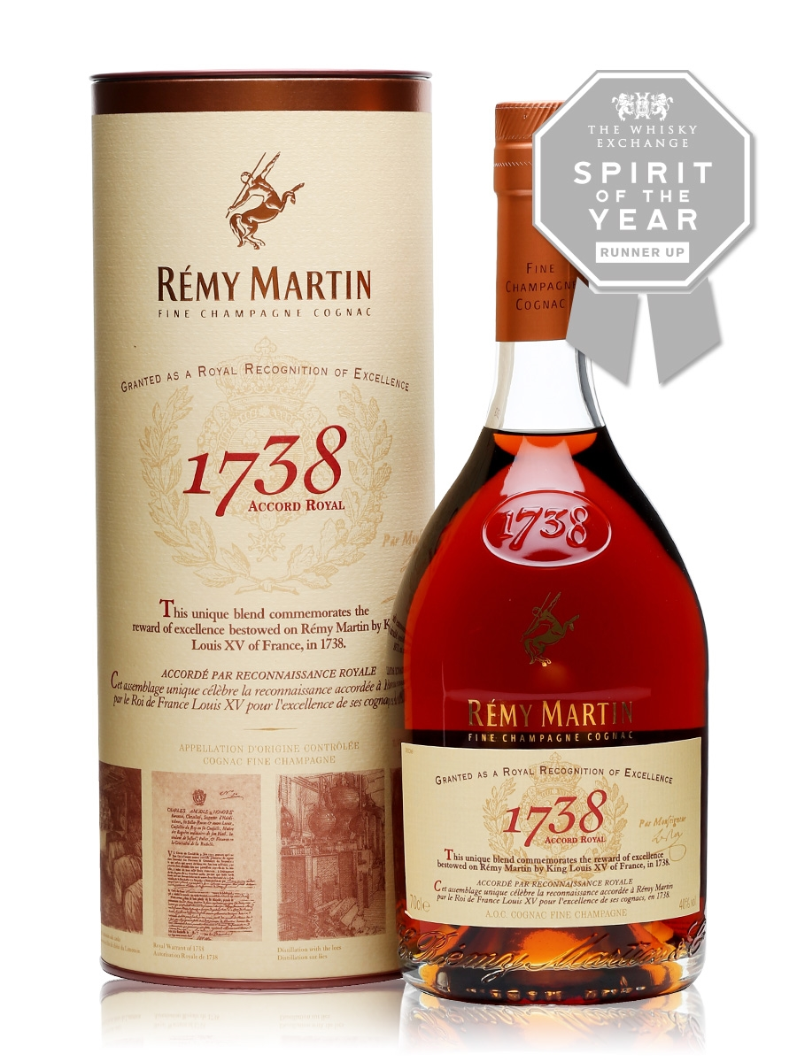 Remy Martin 1738 Accord Royal Cognac The Whisky Exchange Remy Martin Cognac Whisky
