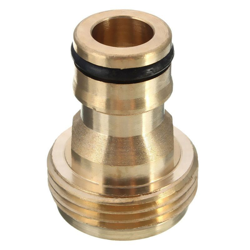 3/4 Inch Brass Garden Hose Pipe Tube Quick Connector Watering Equipment  Spray Nozzle Connector