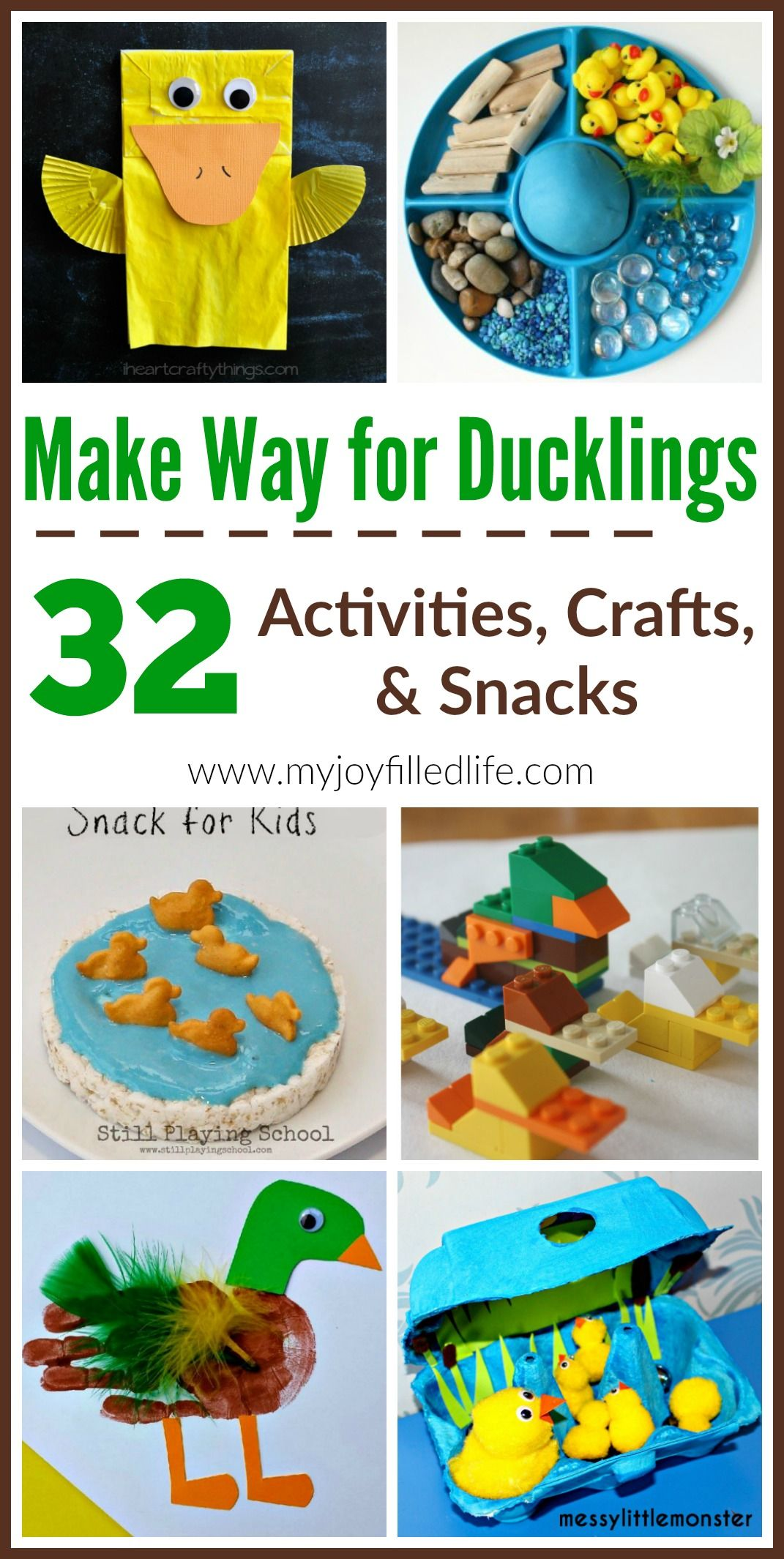 Make Way For Ducklings  Story Time Activities