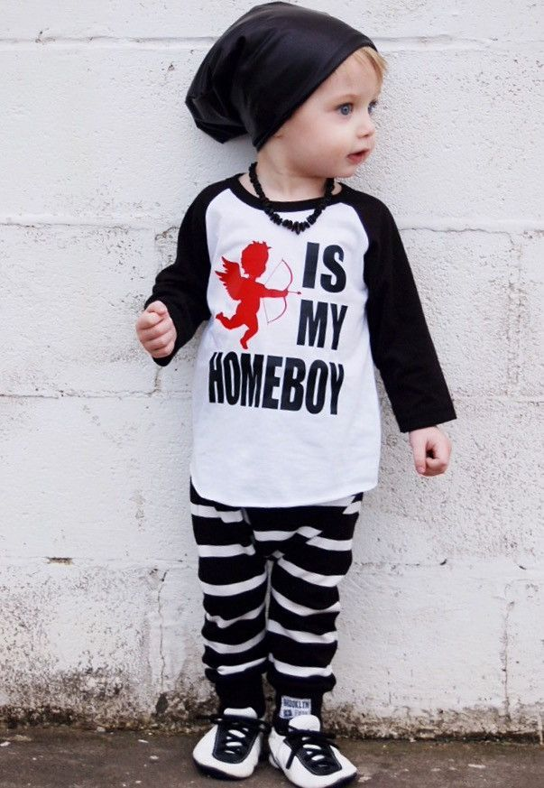 Valentine Shirt For Kids Cupid Is My Homeboy With