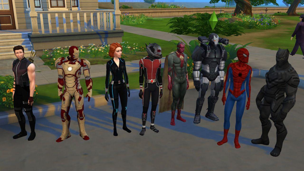 Civil Wars Iron man, Black widow, antman, vision, war