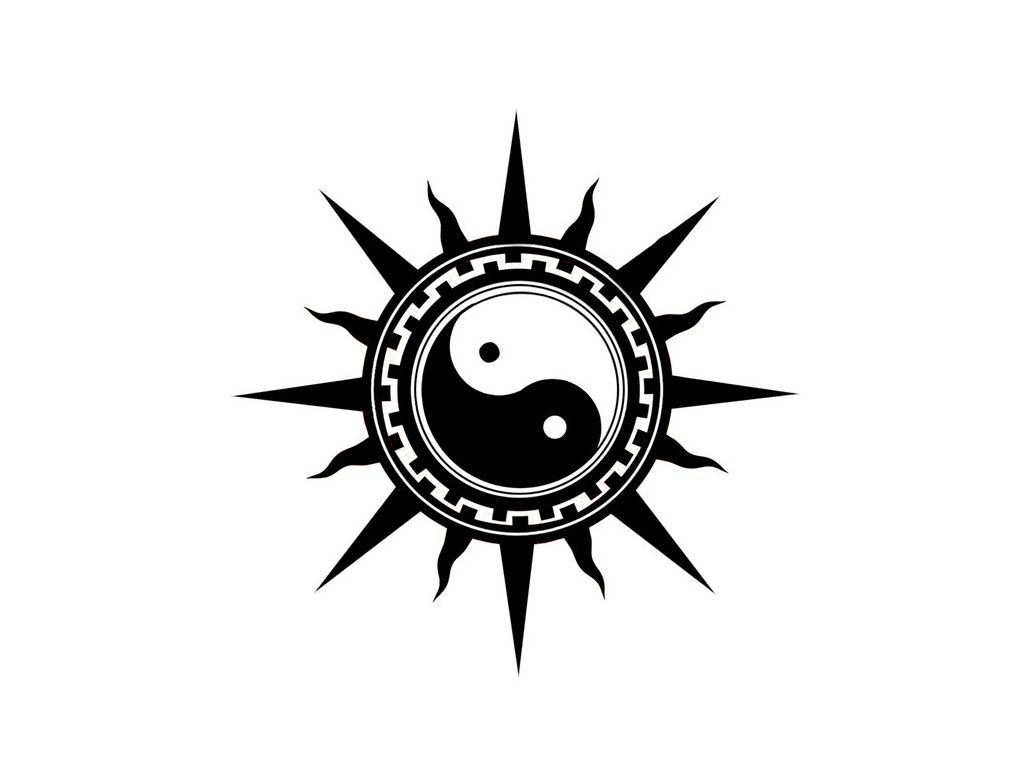 Chinese Tattoo Yin Yang Phoenix Dragon Symbol Tattoos Tats