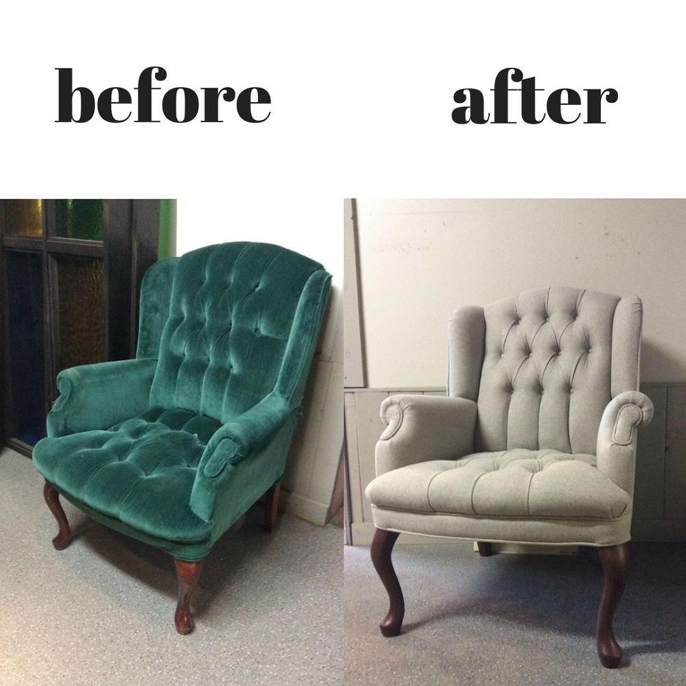 How To Reupholster Family Heirloom Armchair Diy Reupholster