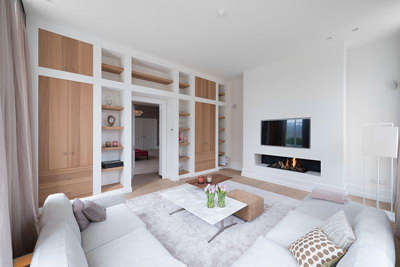 kastenwand-woonkamer- | Wonen in 2018 | Pinterest - Living Room ...