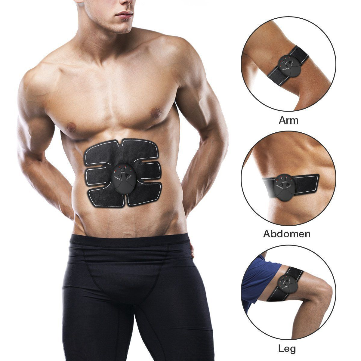 Rectus Abdominis Muscle Fitness Technology Kit 6 Pack Abs Trainer