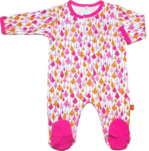 Pink Kites Onesie http://fairytails.kiwi.nz/collections/girls-onesies/products/pink-kites-onesie