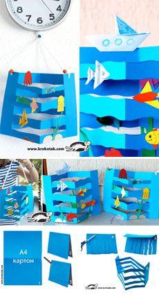 Collage Del Mar Animales Acuaticos Pinterest Kinderbasteleien