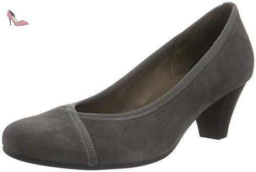 Gabor Shoes Gabor Basic, Escarpins Femme, (19 Zinn), 37.5 EU