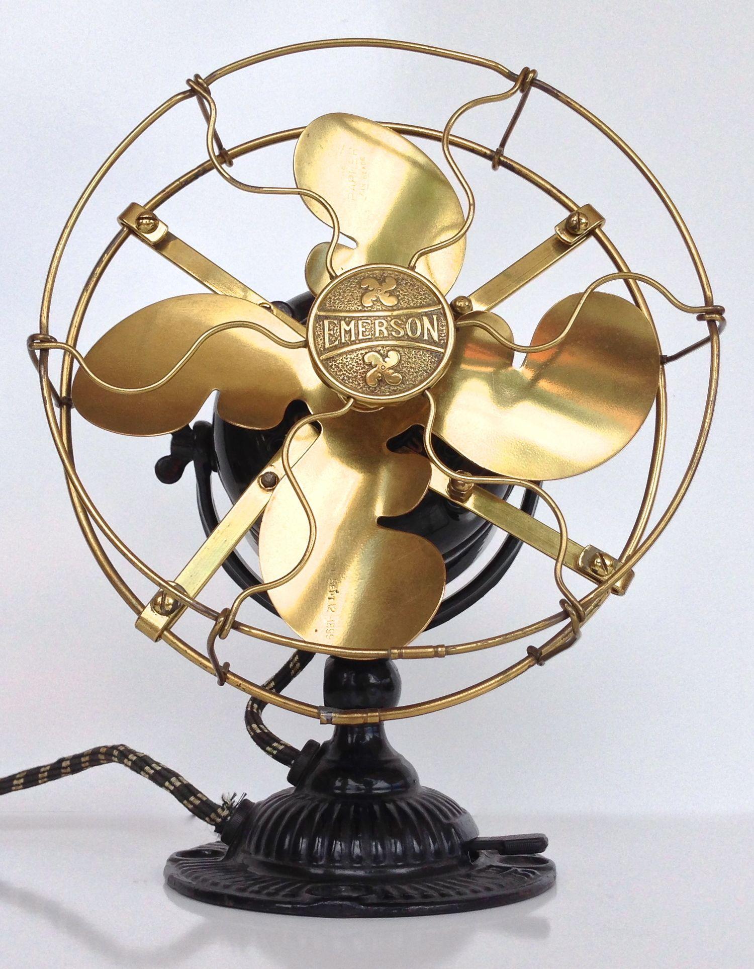 1910 Emerson 8 11644 Antique Fans Emerson Fan Vintage Fans