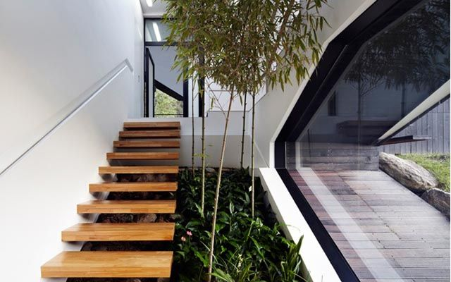escaleras modernas ideas para decorar con escaleras voladas - Escaleras Voladas