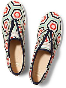 019786db7e68 Keds x Kate Spade New York Champion Laceless in Geo Navy Red