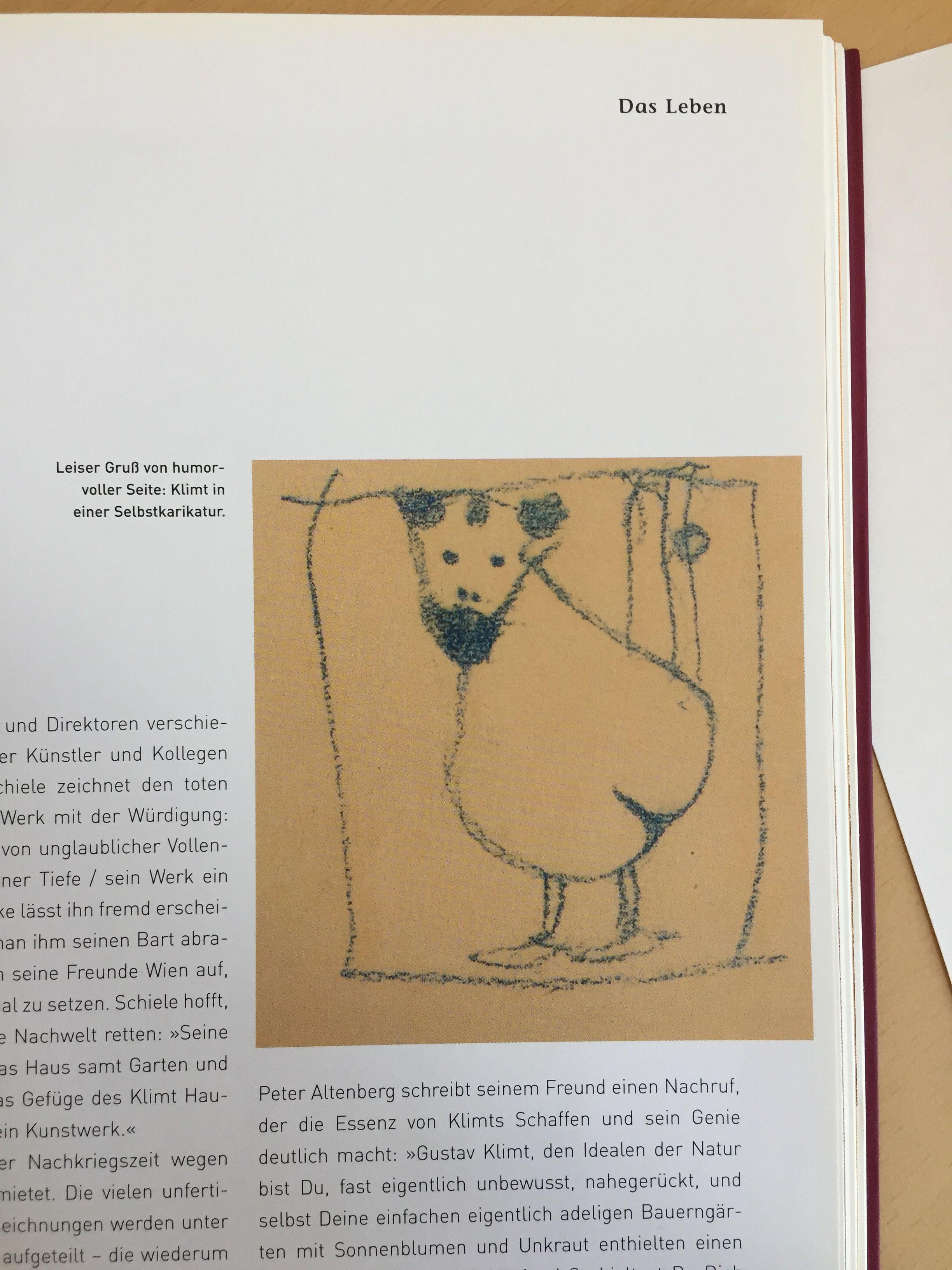 Gustav Klimt In 2020 Klimt Karikatur Zeichnen