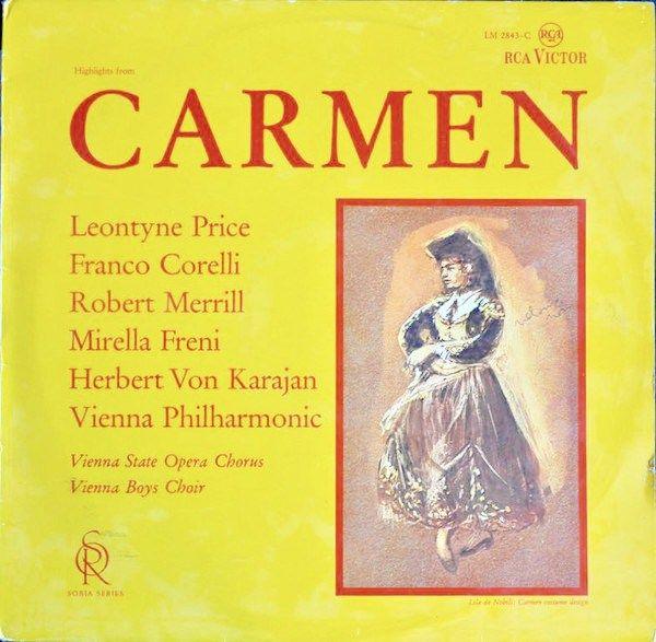 Carmen (Highlights) - Georges Bizet, Leontyne Price, Herbert Von Karajan, Vienna Philharmonic & Vienna Boys Choir.