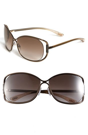 cfe2c700c2b1 Would Love to rock it this Summer! Tom Ford  Eugenia  Open Temple Sunglasses  available at  Nordstrom