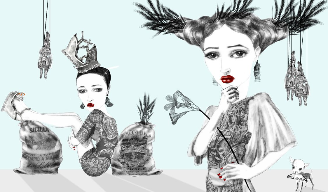 SS13 -The illustration project with JSK and Simona Murialdo