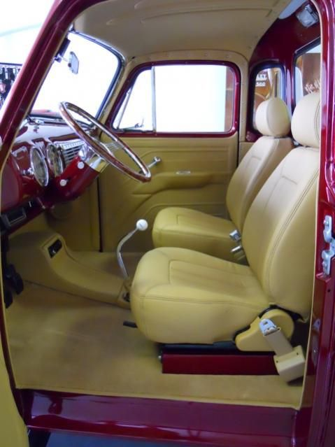 Custom 53 Chevy 3100 Interior Pics Custom Trucks Custom Car Interior Classic Chevy Trucks
