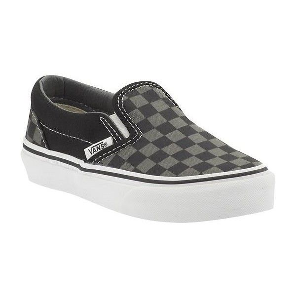 Vans Classic Slip On Athletic Shoes ❤ liked on Polyvore featuring baby and shoes