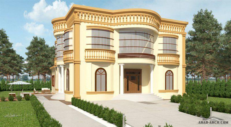 فيلا متميزة من سكن 25 م عرض X 15 50 م عمق ارضى و اول 5 غرف نوم مساحه 561 متر مربع Villa Design Modern Bungalow House Mosque Design Islamic Architecture
