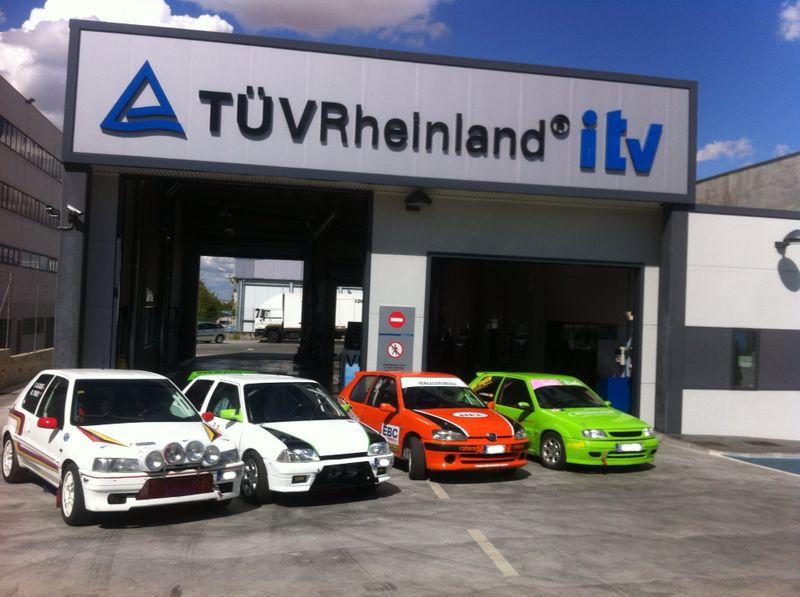¿Tienes un vehículo de competición? ¡Recuerda que debe estar correctamente homologado y con la #itv en regla! #vechiculo #competicion #rally #rallye #racing #seguridad #seguridadvial #conduccionsegura