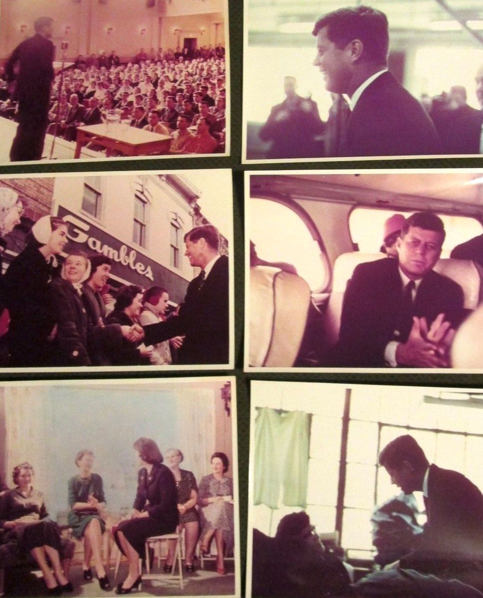 JFK and his sisters campaigning 1959-1960