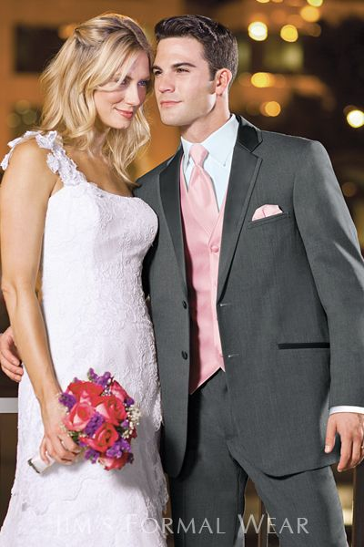 Jean Yves Steel Gray Destination Wedding Tuxedo View on ...