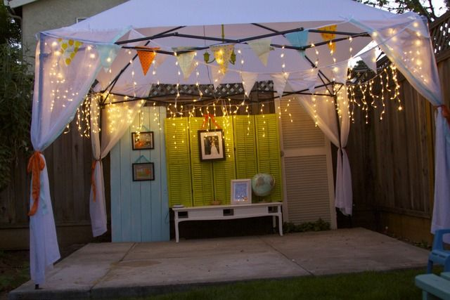 Orange Blossom Birthday Party Ideas Outdoor Party Decorations