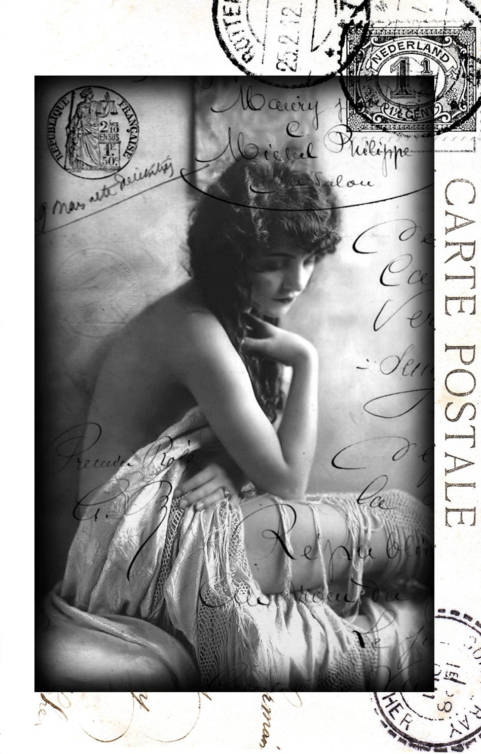 FREE IMAGES & A VINTAGE CARD TUTORIAL